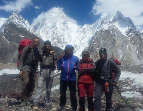 Українські альпіністи в Пакистані