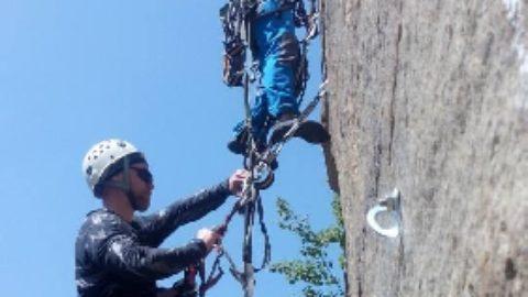 В ці вихідні чемпіонат України з альпінізму в скельному класі в Южноукраїнську