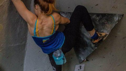 Фінал Кубку України зі скелелазіння в дисципліні болдерінг в Кривому Розі