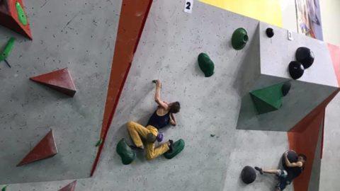 Київські скелелази повернулись з Чемпіонату України зі скелелазіння у Нікополі