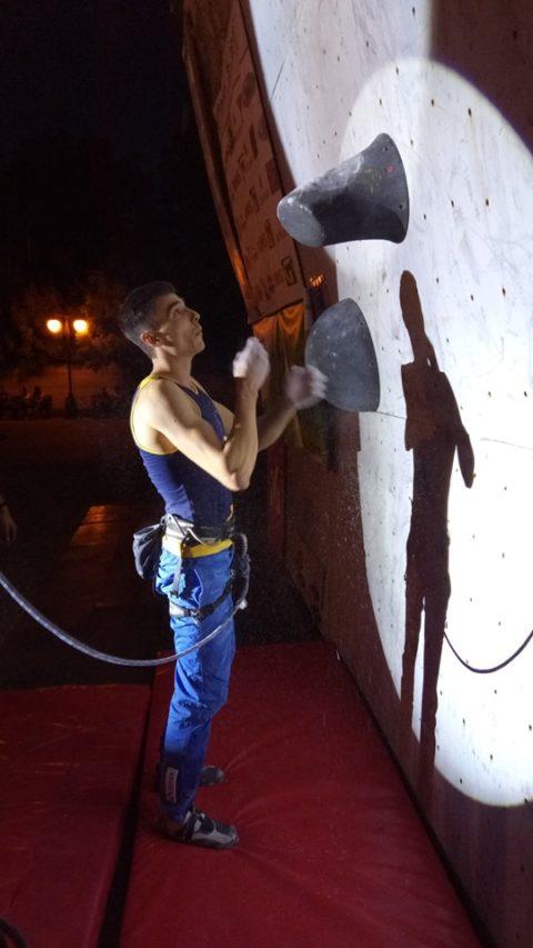 Кубок України зі скелелазіння у дисциплінах швидкість та трудність пройшов у Харкові