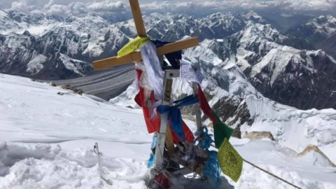 Сходження київських альпіністів на Хан-Тенгрі з Півночі