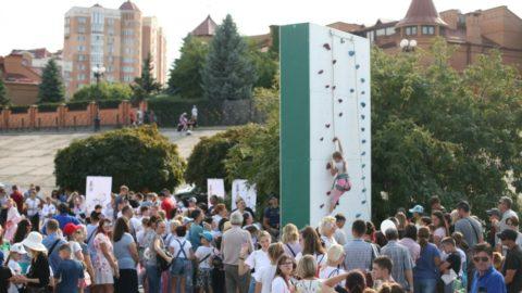 ФАіС України представила скелелазіння на Олімпійському уроці у Києві