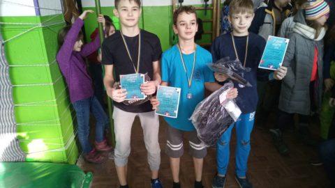 Перший етап Всеукраїнських змагань серед юніорів, молоді та юнаків.