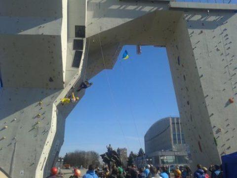 В ці вихідні змагання в Харькові – льодолазіння
