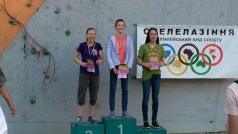 Результати Чемпіонату України зі скелелазіння серед юнаків та юніорів