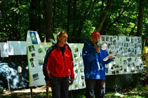 Протоколи чемпіоната Києва серед ветеранів зі скелелазіння в Денишах