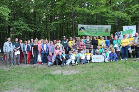 Відкритий чемпіонат Києва серед ветеранів зі скелелазіння в Денишах