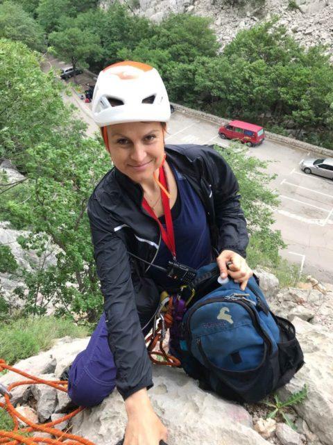 Відеоролик для телебачення про альпінізм