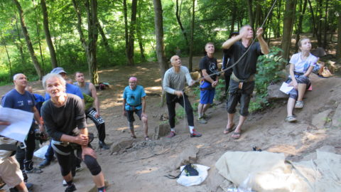 Чемпіонат м. Києва альпінізма та скелелазіння серед ветеранів. Протоколи та фото