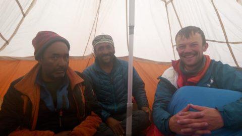 Київський альпініст Михаїл Фомін підкорив Броуд пік 8051