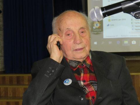 Відбулась зустріч з Іваном Андрійовичем Кашиним