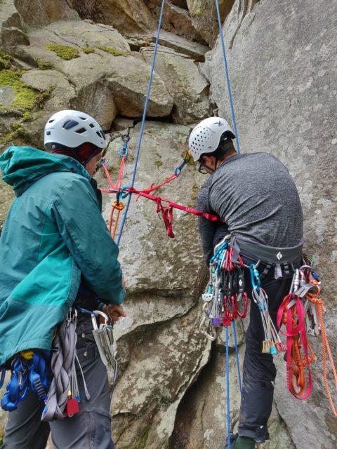 Київські альпіністи на тренуванні біля Микуличина