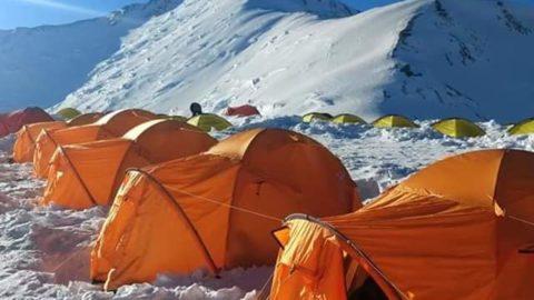 Київські альпіністи були на пікі Абу Алі ібн Сіна ( Леніна) 7134 метра