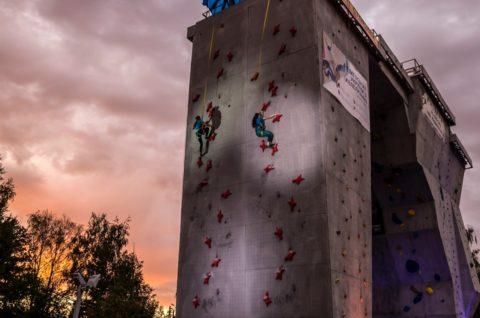 У Харкові з 13-15 вересня пройшли наголовні національні змагання року Чемпіонат України зі скелелазіння у трудності та швидкості